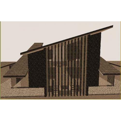 Chiesa Scutari Render 2